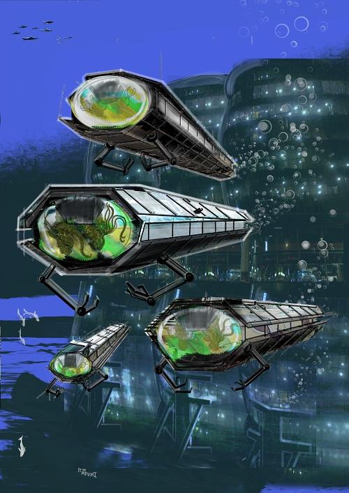 alien submarines revision